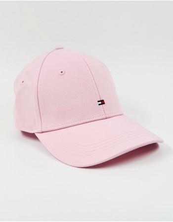 Cepure ar snīpi TOMMY HILFIGER BB Cap Pink