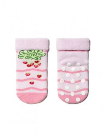 Vaikiškos kojinės ''Berry Game Light Pink''