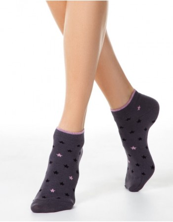 Women's socks ''Luna Dark Grey''