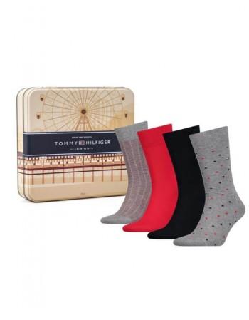 "Men's Socks TOMMY HILFIGER ""Derrec"" 4 pair"
