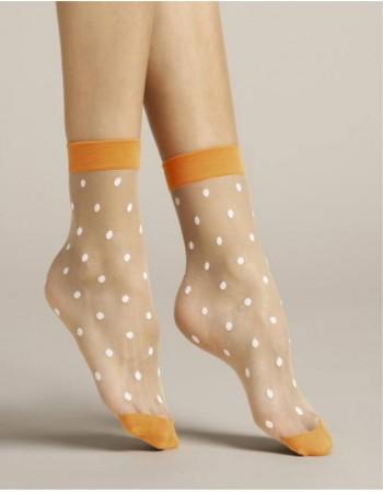 """Women's socks """"Papavero Orange"""" 20 Den"""