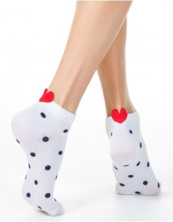 """Women's socks """"Dotty Heart"""""""