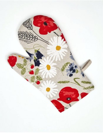 "Kitchen glove ""Flowers"""