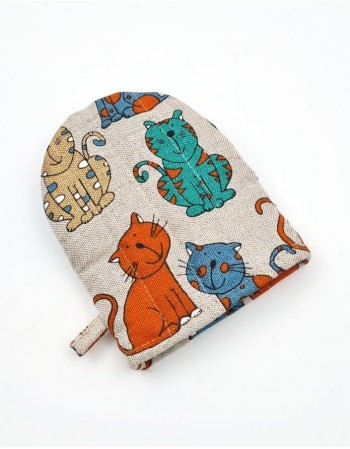 "Kitchen glove ""Colorful Kitty"""