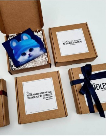 "Gift set ""Blue Cat"""