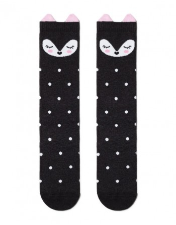 """Vaikiškos kojinės """"Black Kitty"""""""