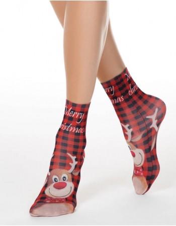 """Women's socks """"Happy Moose"""""""