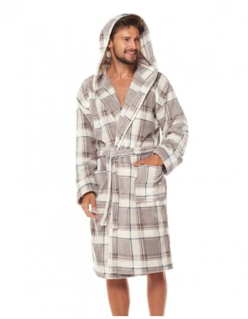 "Bathrobe ""Cross Hood"""