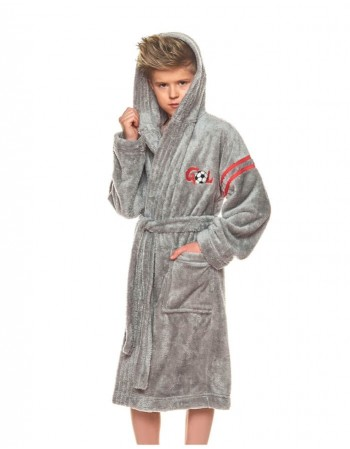 "Bathrobe ""Gol grey"""