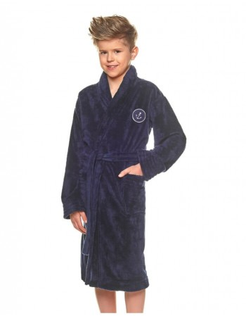 "Bathrobe ""Anchor granat"""