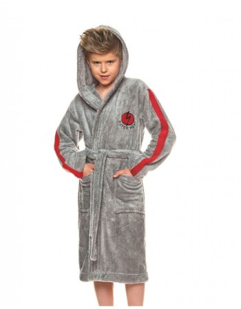 "Bathrobe ""Hero grey"""