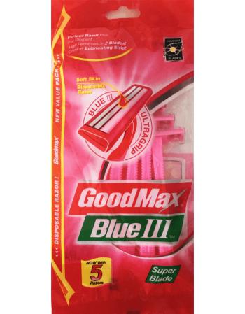 """Moteriškas Skustuvas """"GoodMax Blue"""""""