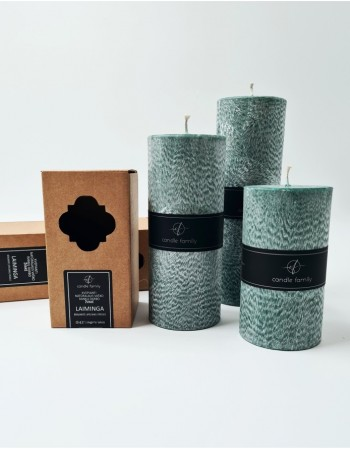 "Scented candle ""Laiminga"""