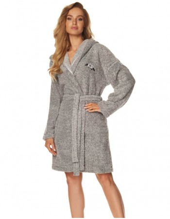 "Bathrobe ""Rose Grey"""