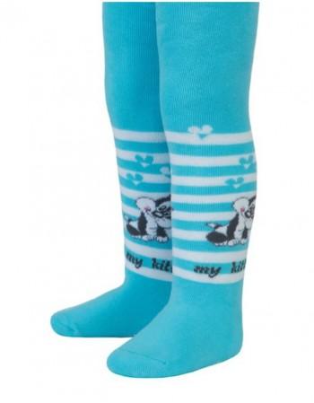 """Laste sukkpüksid """"Blue Kitty"""""""