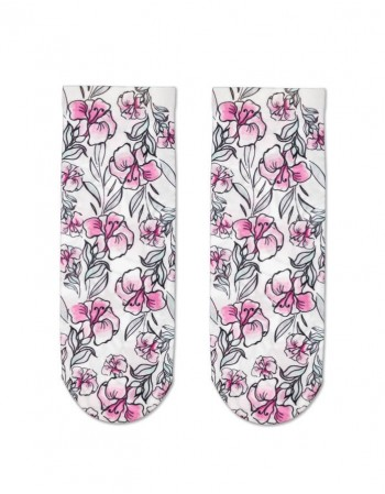 """Women's socks """"Pink Flowers"""""""