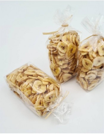 Žāvētu banānu čipsi, 150g