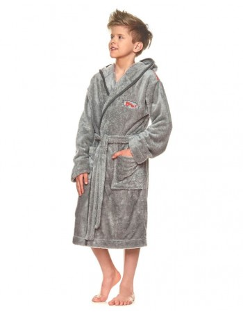 "Bathrobe ""Bam Grey"""