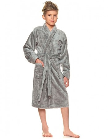 "Bathrobe ""Anchor grey"""