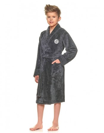 "Bathrobe ""Anchor Grafit"""