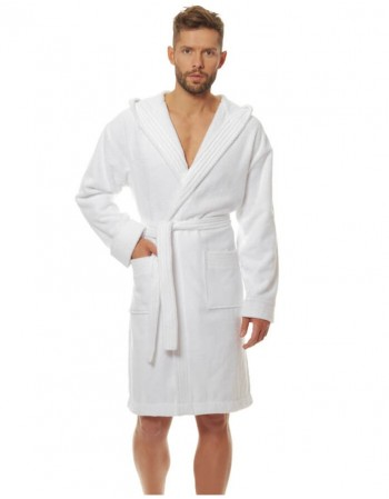 "Bathrobe ""Jordan White"""