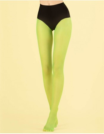 "Women's Tights ""Candy Lime"" 8 Den"