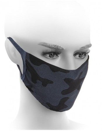 """Protective face mask """"Army Blue"""""""