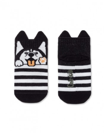 "Children's socks ""Dog in Stripes"""