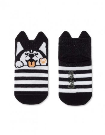 "Детские носки ""Dog in Stripes"""