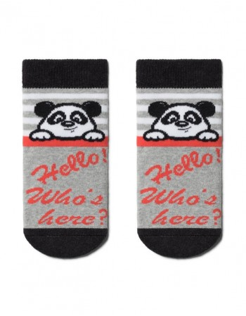 "Children's socks ""Bear Grey"""