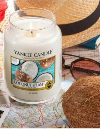 Scented candle YANKEE CANDLE, Calamansi Cocktail, 411 g