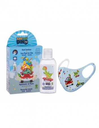 Children's Set MY DINO, Sanitazer + mask
