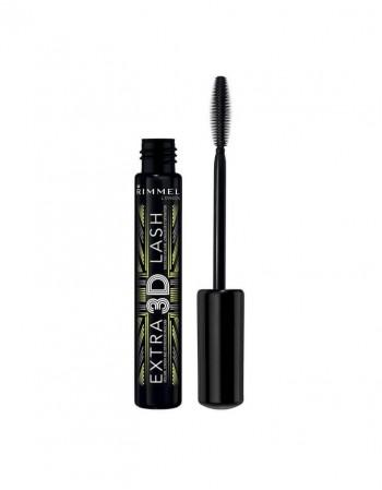 """Mascara RIMMEL """"Extra 3D"""", Black, 8 ml"""