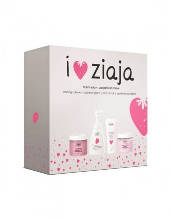 Набор ZIAJA, Peeling+Soap+Jelly+Cream