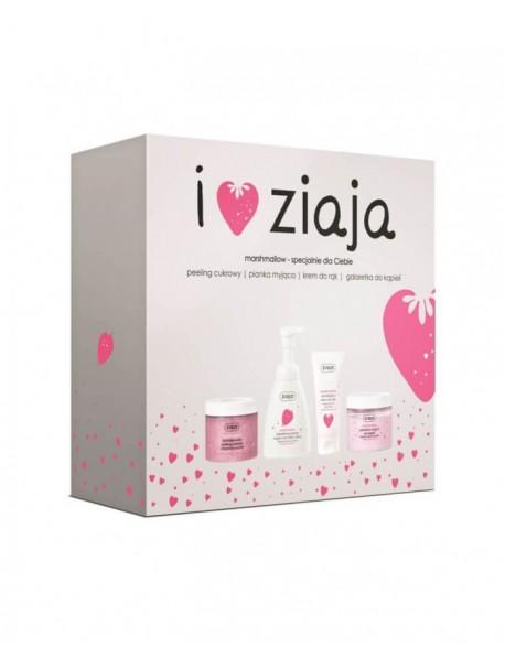 Komplekt ZIAJA, Peeling+Soap+Jelly+Cream