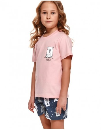 "Children's pajamas ""Pinky bear"""