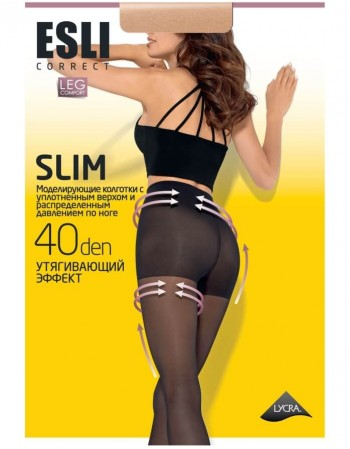 "Women's Tights ""Slim Correct"" 40 Den"