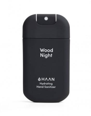 """Drėkinantis rankų dezinfekantas HAAN """"Wood Night"""" 30ml"""