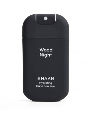 "Hydrating Hand Sanitizer HAAN ""Wood Night"" 30ml"