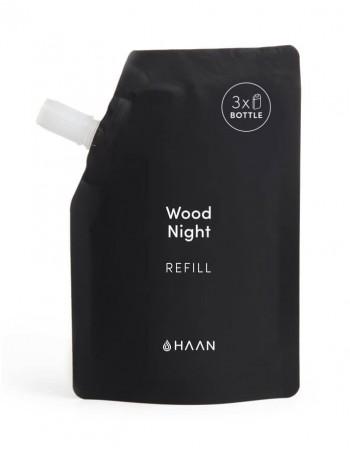 "HAAN rankų dezinfekanto papildymas ""Wood Night"" 100ml"