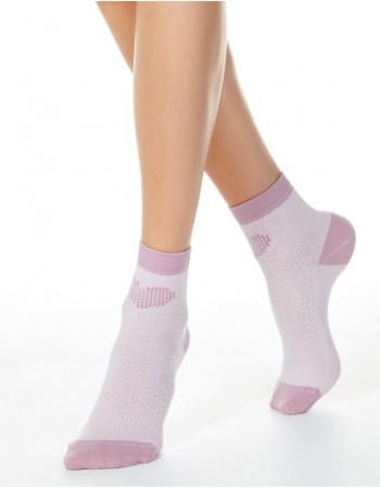 """Women's socks """"Pink Heart"""""""