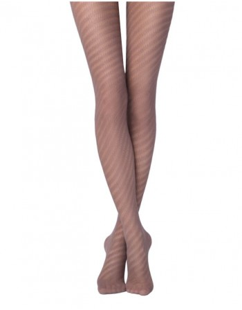 """Women's Tights """"Caprice Ajour Cacao"""""""