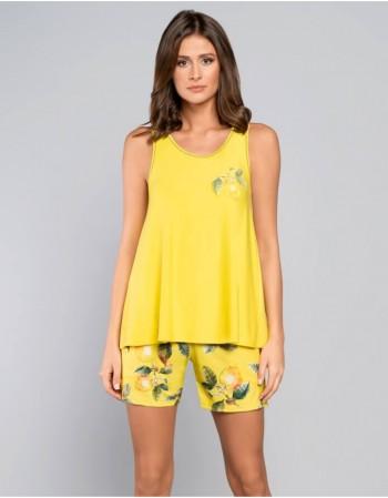 """Pajamas """"Yellow Lemon"""""""