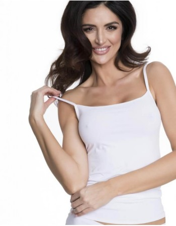 """Blouse """"Soft & Smooth White"""""""