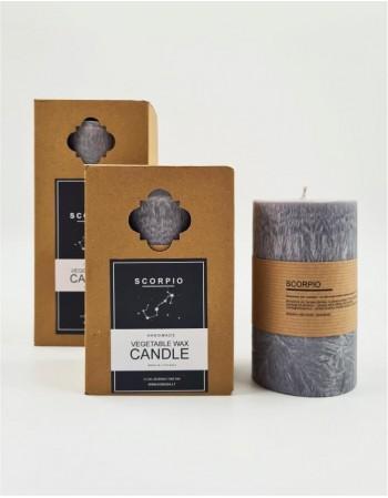 """Candle """"Scorpio"""" 18cm"""