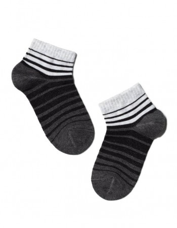 "Children's socks ""Grey Lines"""