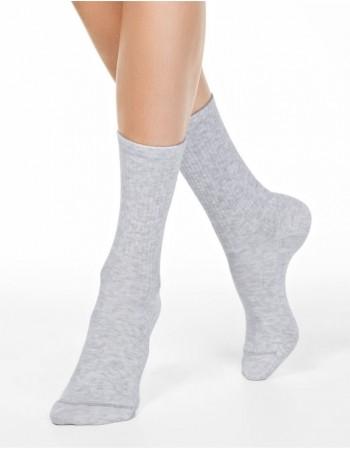 """Moteriškos kojinės """"Comfy Grey"""""""