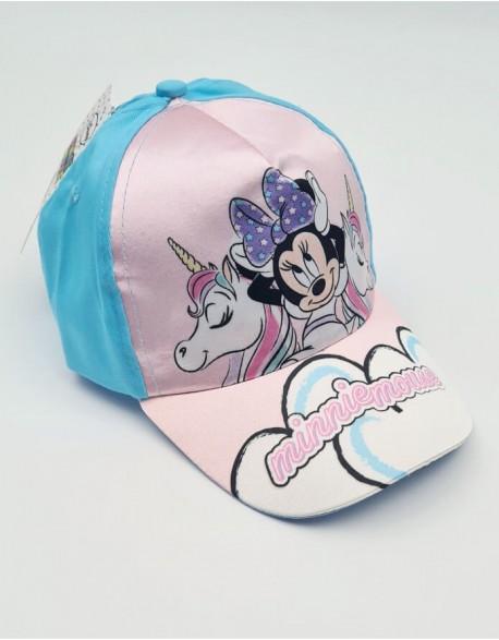 """Vaikiška kepurė """"Minnie mouse pink"""""""