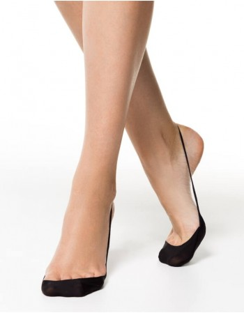 "Women's socks ""Invisible Black"""