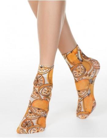 "Women's socks ""Orange"""